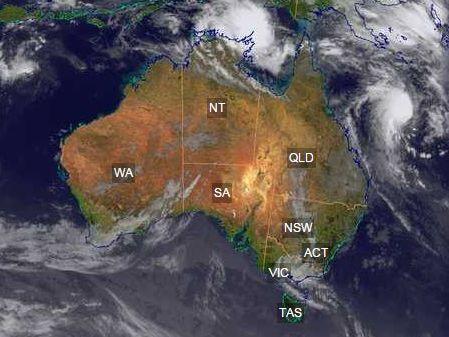 Image: Bureau Of Meteorology