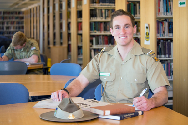 David Werndly Australian Defence Force Academy graduate