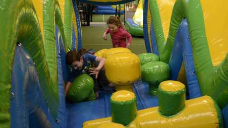 Bounce on in to Inflatable World Toowoomba.