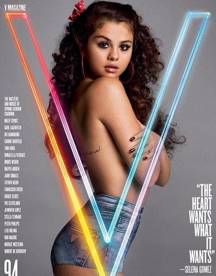 Former Disney star Selena Gomez poses for V Magazine.