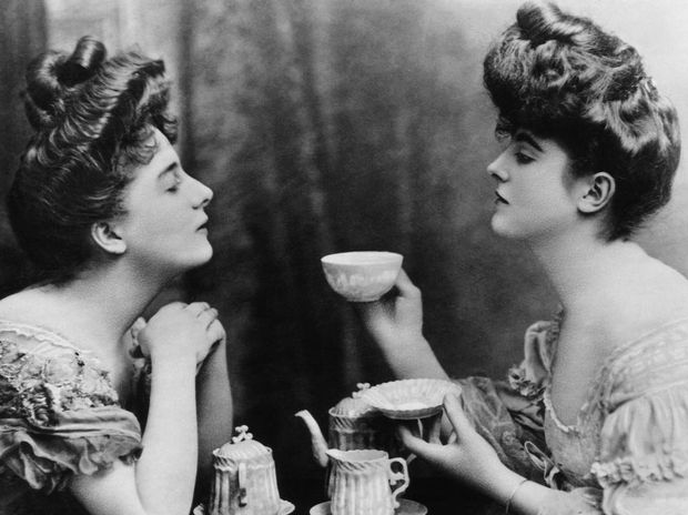 That's not how you make tea, darling.