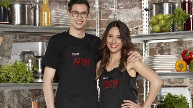 My Kitchen Rules contestants Drasko and Bianca from Perth.