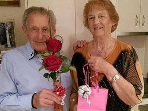 Love is a snap for happy couple after 60 years