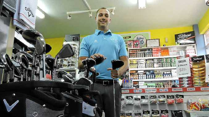 Teaching professional Joseph Rickman has been with the Mackay Golf Club since he was 13.