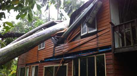 Renton Bishopric posted these photos of the serious damage TC Marcia caused.