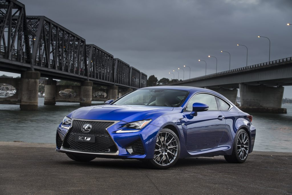 The 2015 Lexus RC F.