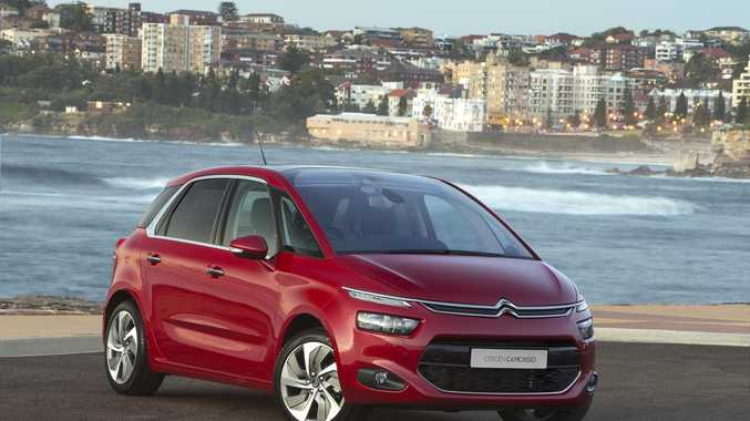 The 2015 Citroen C4 Picasso.