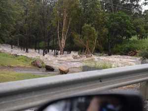 Cyclone Marcia destruction