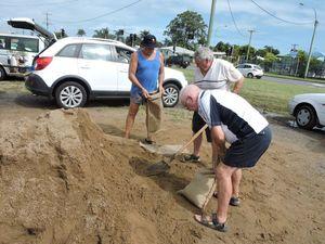 Residents still filling sandbags in Hervey Bay