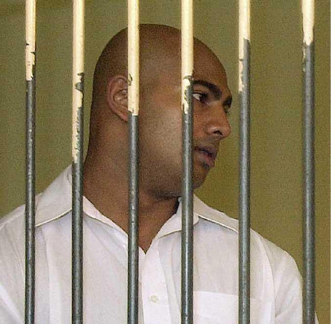 Australian Bali Nine inmate Myuran Sukumaran Andrew Chan, who has been sentenced to execution by firing squad for drug trafficking.