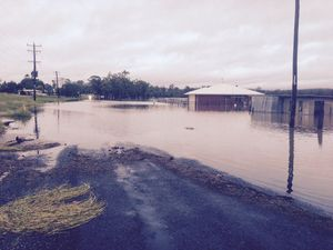Rolling coverage: Bundaberg city residents to escape flood