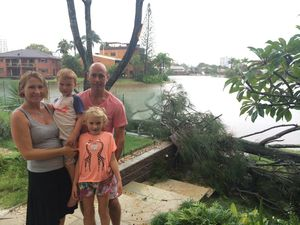 """It was like a mini-cyclone"": Mooloolaba waterspout"