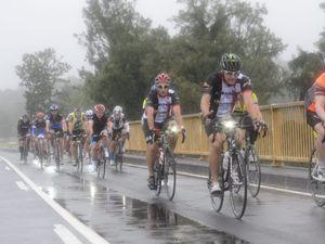 Grafton To Inverell Cyclo Sportif goes ahead despite weather