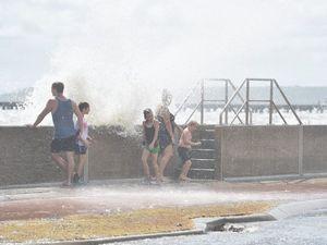 High tide at Urangan
