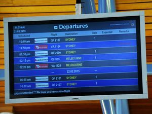 Some flights cancelled and others delayed at Coffs Airport