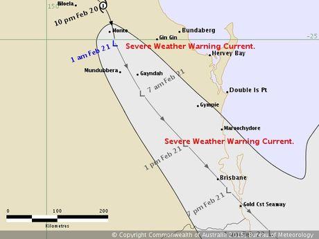 Ex-tropical cyclone Marcia