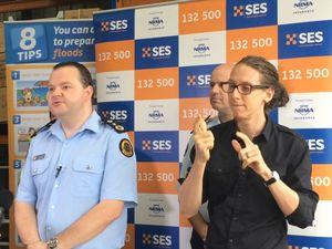 NSW SES Commissioner at Goonellabah