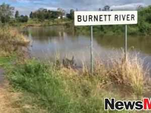 Burnett River at Wallaville