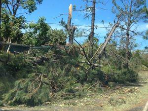 Cyclone Marcia Woodbury