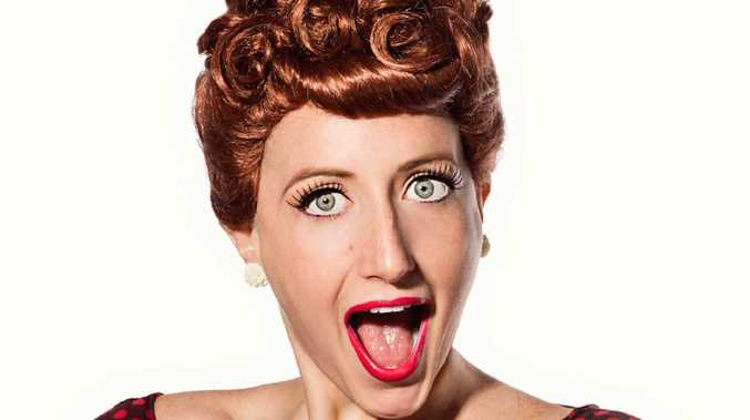 FUNNY GIRL: Elise McCann stars on stage in Everybody Loves Lucy.