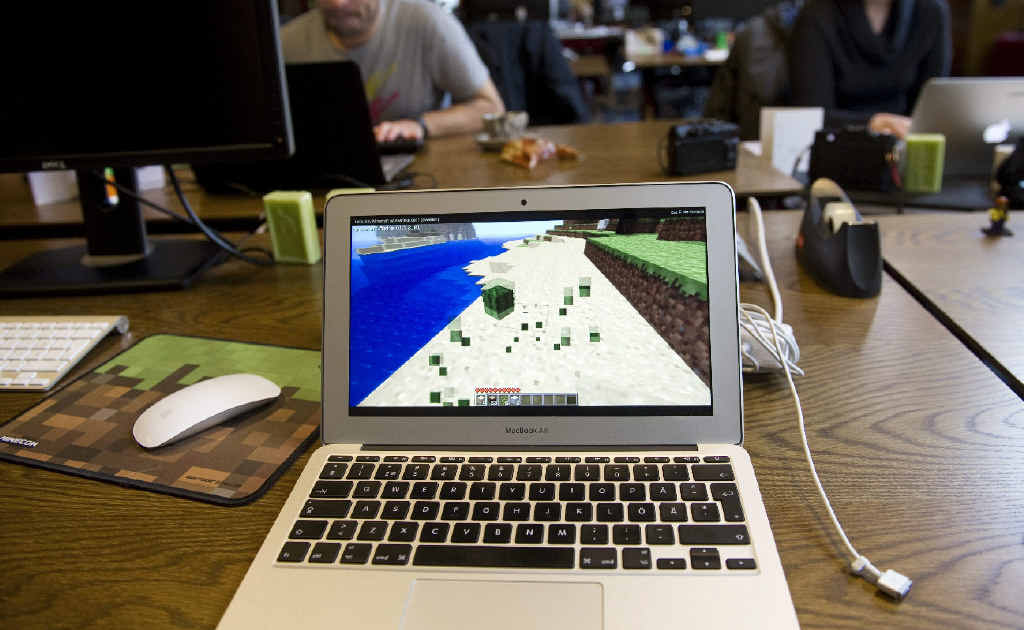 BIG BUSINESS: Swedish company Mojang, the producer of Minecraft, has been bought by Microsoft for about $3 billion.