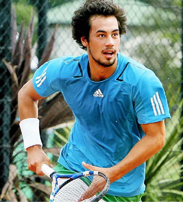 BETTING ALLEGATION: Former professional tennis played Nick Lindahl, pictured in 2011, has been charged with match fixing at a Toowoomba tournament.