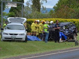 Man killed in horror head-on crash