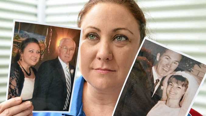 HERO DAD: Kate Walter will never get over losing her dad in a road accident caused by a driver using his mobile phone.