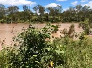 Burnett River at Booyal in flood