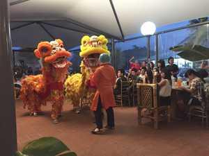 Chinese New Year at restaurant