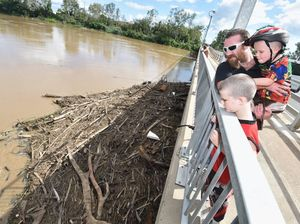 UPDATE: Mary River peaks at 4.3m, lower than expected