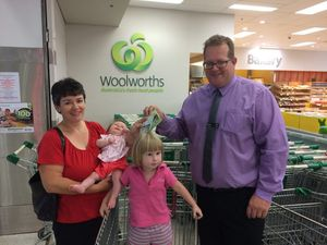 Trolley tracker pay day for Bundaberg mum