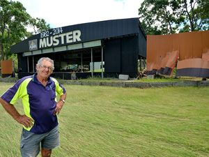Muster spirit shines through flood damaged venue