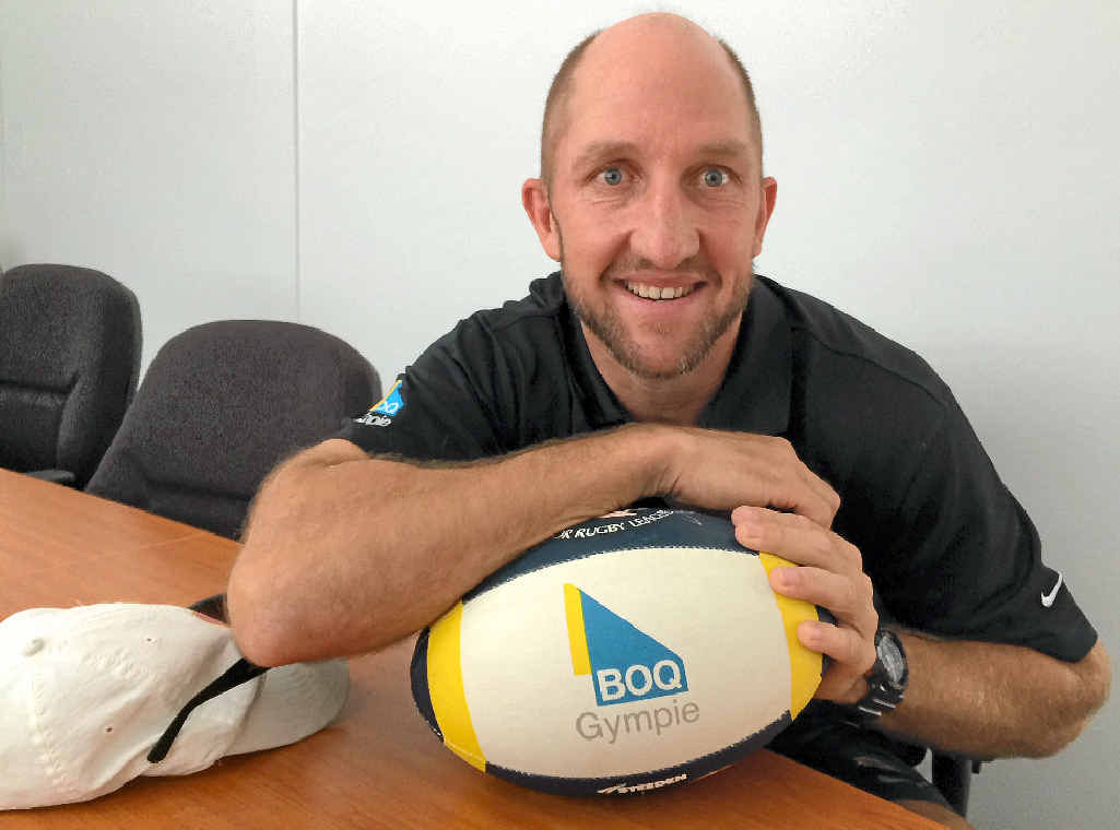 LEAGUE PASSION: Gympie Devils coach director Darren Burns has been involved in rugby league since 1995.