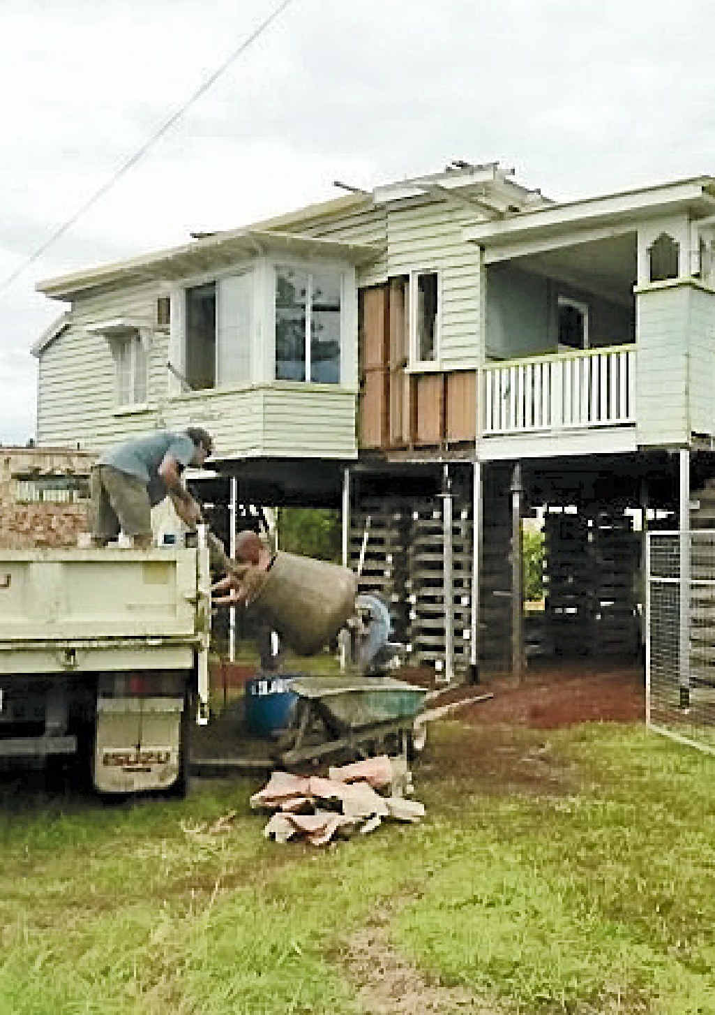 MOVING HOUSE: The house Yhurri Gurri has been safely relocated from Gladstone to a riverside property at Elliott Heads. The process has been a labour of love for new homeowner Kevin Taylor.