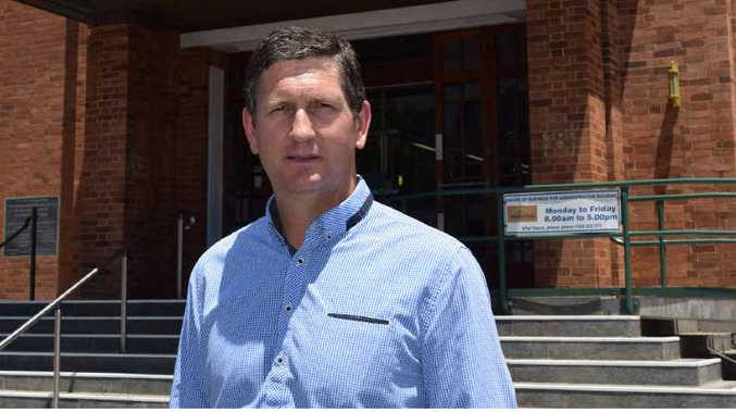 Opposition Leader Lawerence Springborg.