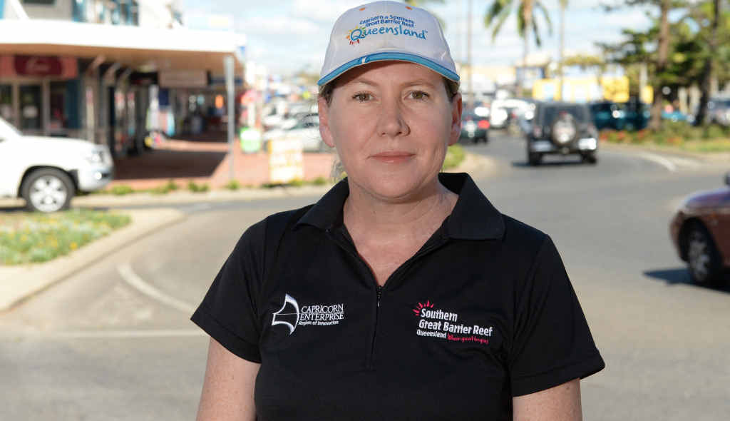 LOCAL SUPPORT: Capricorn Enterprise CEO Mary Carroll is urging Central Queenslanders to shop locally as the region gets back on its feet.