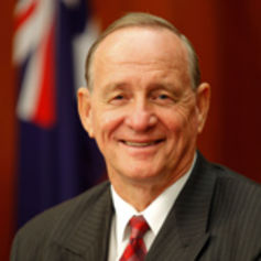 Liberal Party federal treasurer Philip Higginson