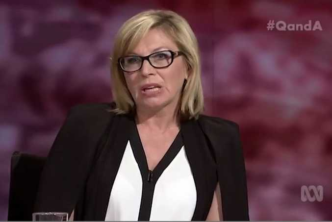 Australian of the Year Rosie Batty on the ABC's Q and A program.