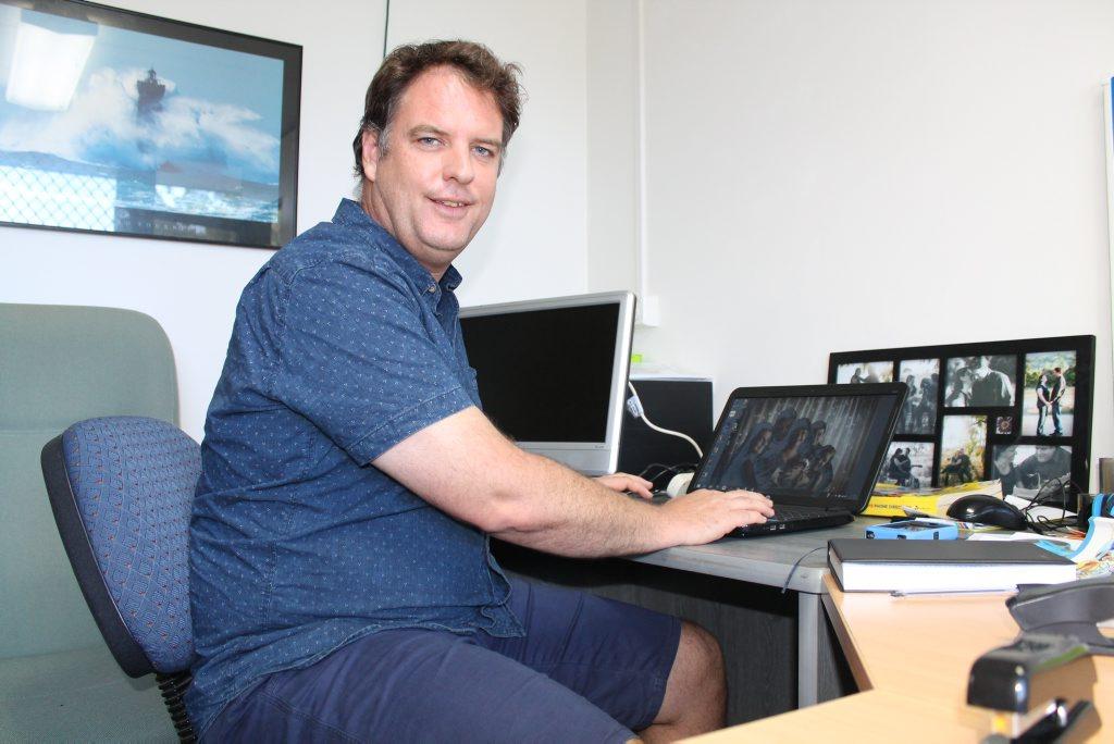 Hopelink Gladstone's  new coordinator, Andrew Crighton.