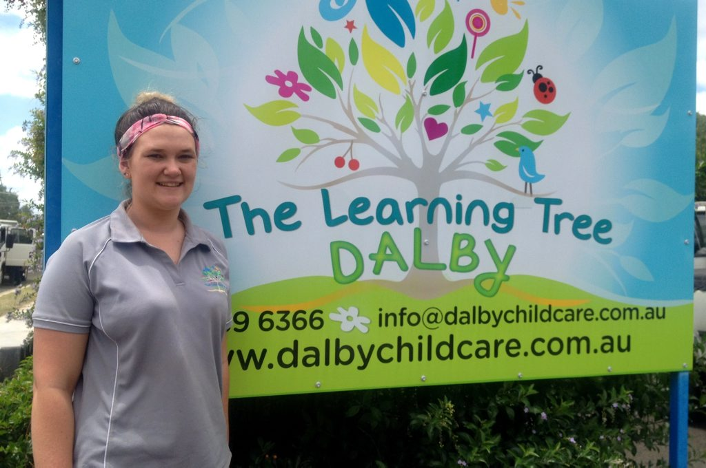 Alli Fox is firmly focused on a career in child care.