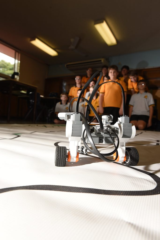 A robot made by the Lismore High team.