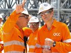 BG Group boss visits QCLNG plant in Gladstone