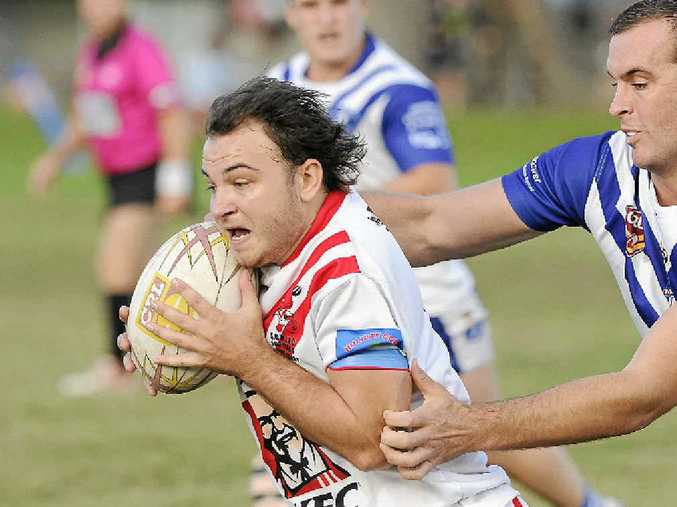 SWITCH: Former South Grafton Rebel Aaron Martin will line up for Lower Clarence Magpies in the club's trial against Macksville Sea Eagles this Saturday at Bellingen.