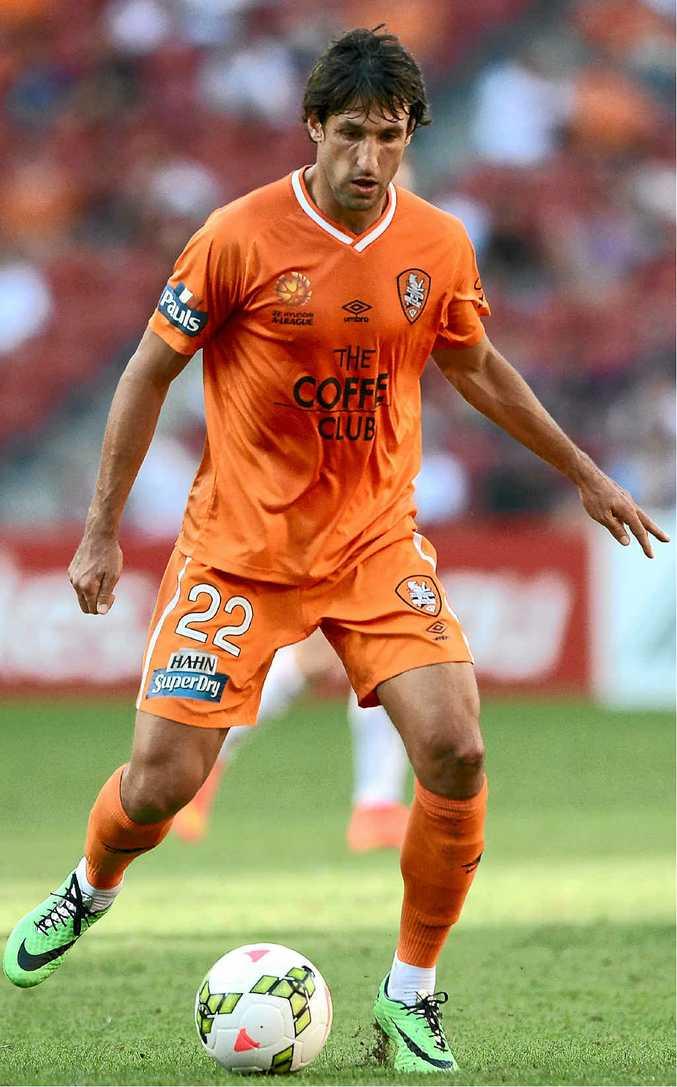 ONE OF THE CHOSEN: Thomas Broich will be a key for the Roar when it plays Beijing Guoan tonight.