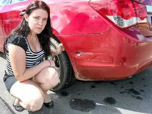 Carpark perils in Gatton