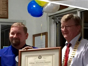 Calliope officially gets its own Rotary club