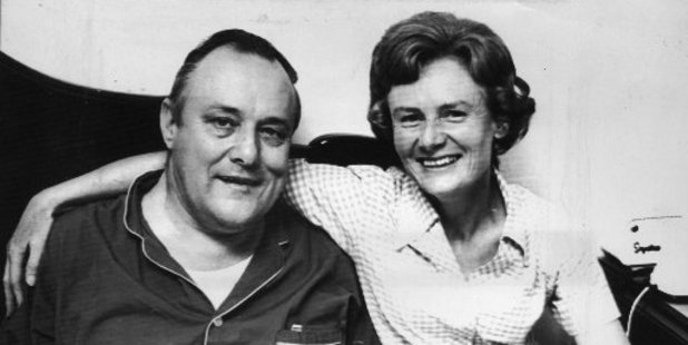 Robert Muldoon and Lady Thea in 1972. Photo / NZ Herald archive