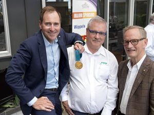 Olympic gold medallist in city for 2015 tour launch