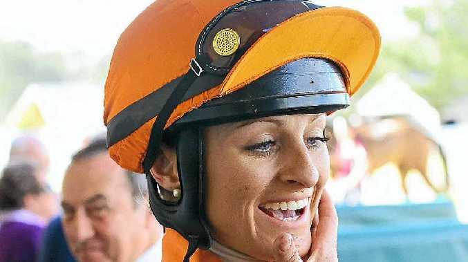 IN THE SPIRIT: Cassandra Schmidt rides River Spirit today Grafton.PHOTO: DAVID NIELSEN/THE QUEENSLAND TIMES